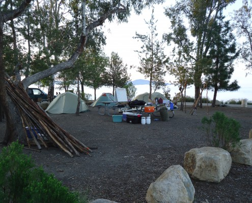 Dixon Lake Campout - March 2013